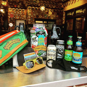 Sierra Nevada craft beer prize pack giveaway at Sugar Land Flying Saucer when you buy beer to go